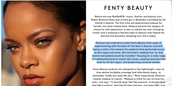 Fenty Beauty | Mission Statement | Challenger Brand Marketing | Rihanna | Digital Advertising Agency | Mighty Roar