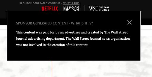 Native Advertising | When To Use | Digital Advertising Agency | Netflix | Narcos | Mighty Roar | Atlanta