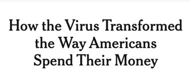 How Coronavirus Changed Way Americans Spend Money